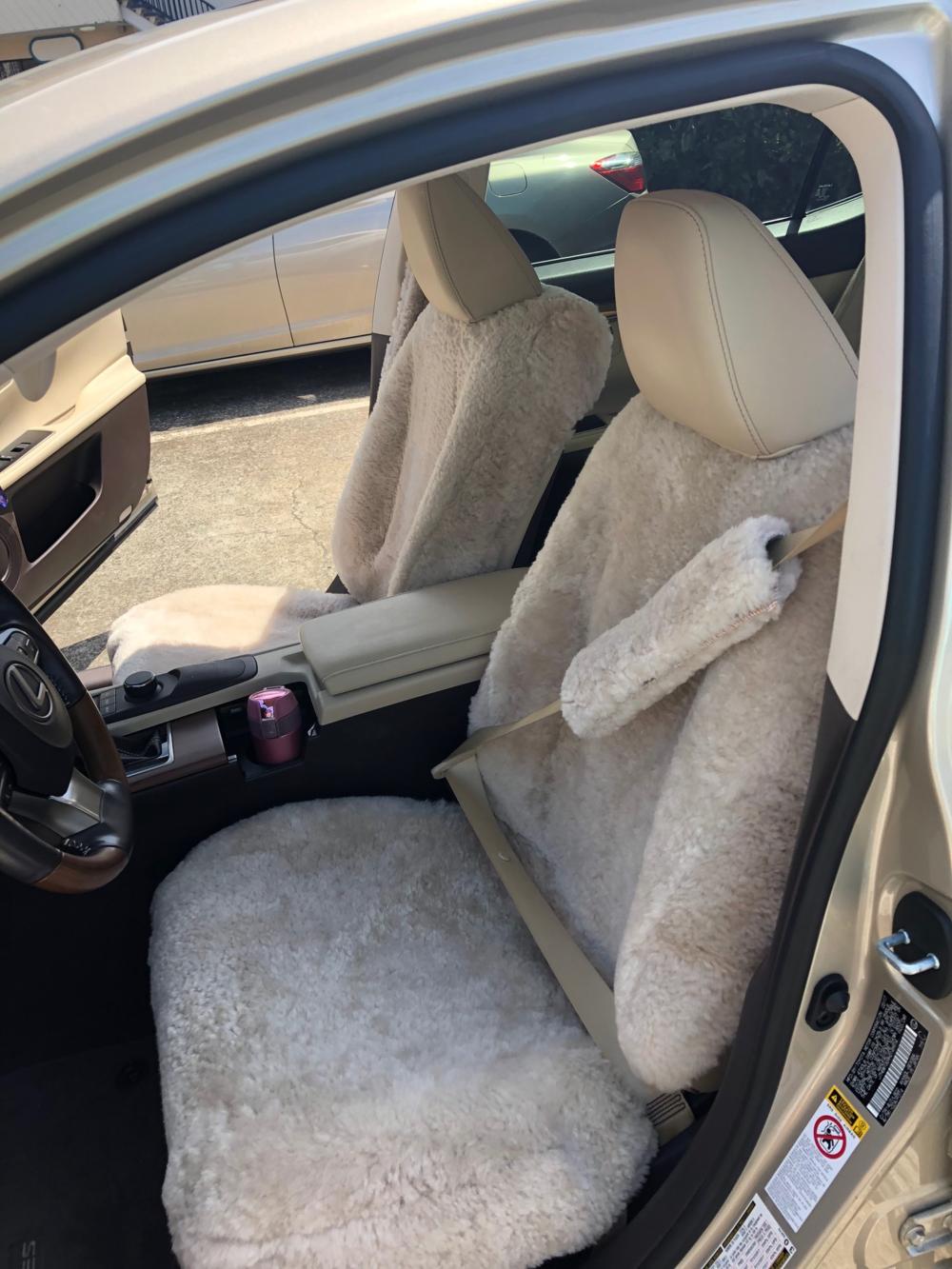 Custom Wrap Around w/ Seat Belt Cover - 2014 Lexus RX 350 (Pearl)