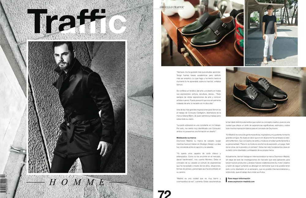 Traffic Homme | Septiembre 2015