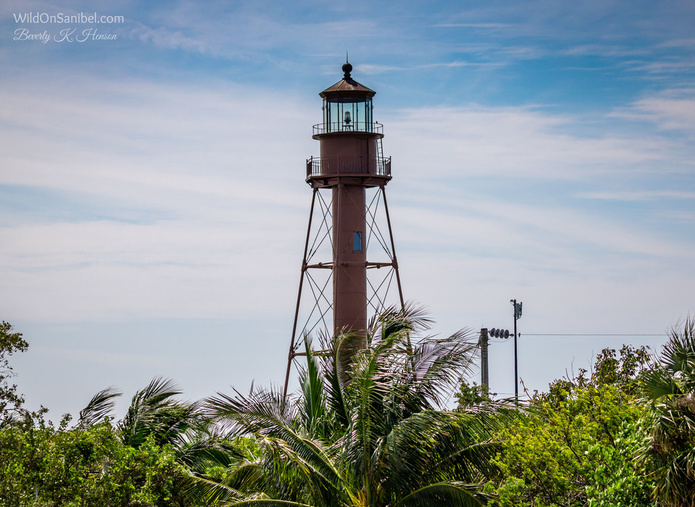 The Sanibel Lighthouse was built in 1884, making it 132 years old this year. It's definitely a big tourist draw, as it should be.