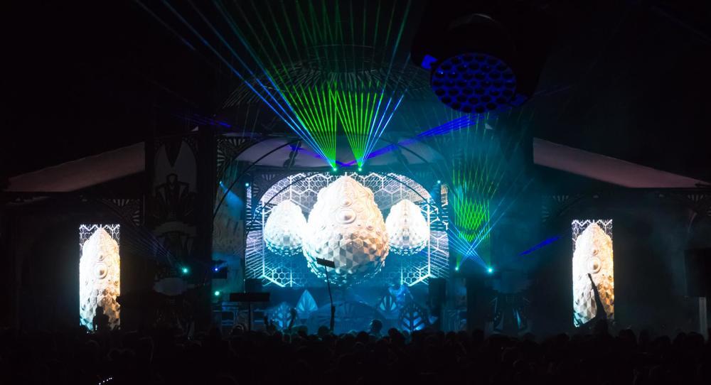 SonikGallixsee Live Visuals @Lucidity Festival