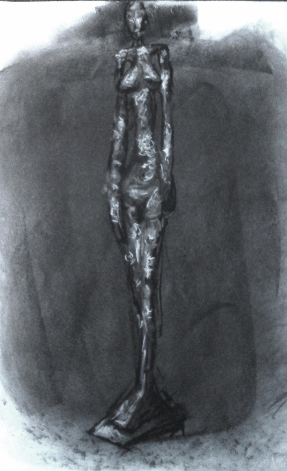 """Giacometti study"""