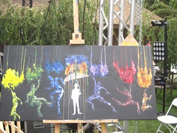 """contagious expression"" live painted at Terra Nova 2013"