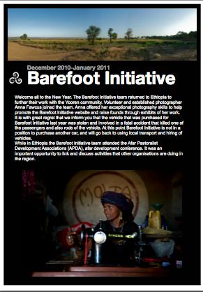 barefoot newsletter 2011