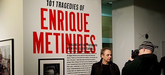 Enrique Metinides Opening Night at Aperture Gallery