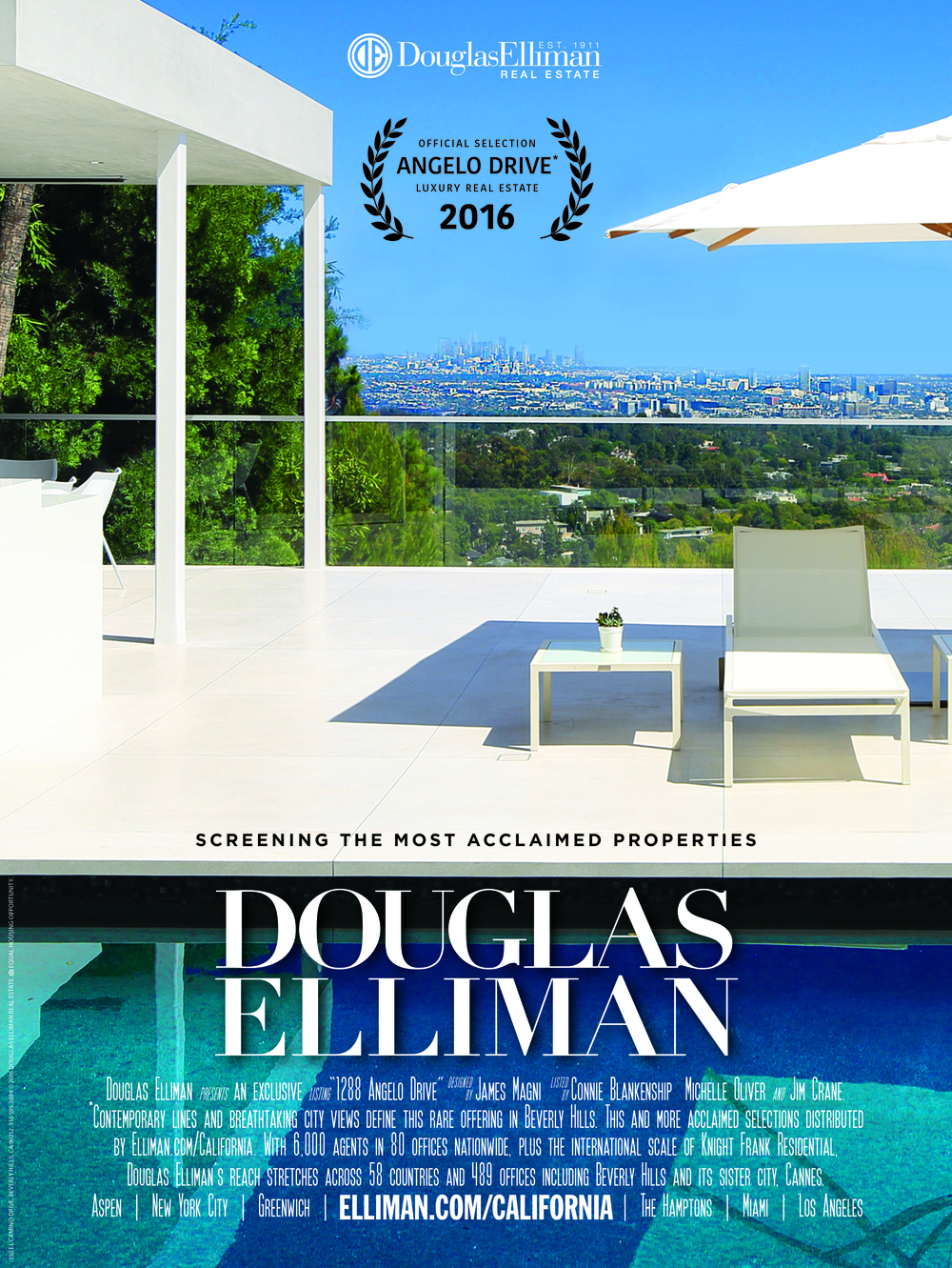 Michelle Oliver Luxury Real Estate Douglas Elliman Hollywood Reporter Cannes