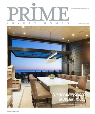 Michelle Oliver in Prime Luxury Home Magazine