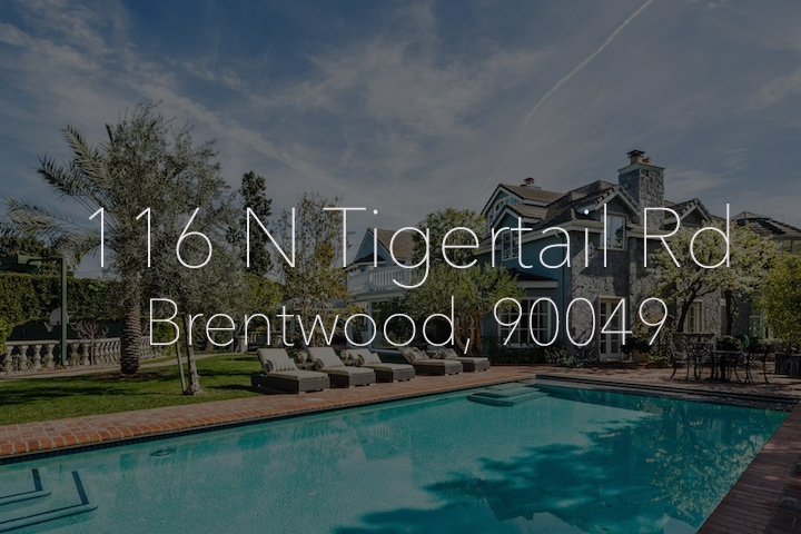 Michelle Oliver Luxury Real Estate 116 N Tigertail Rd, Brentwood 90049