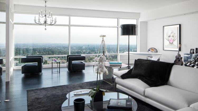 The two-bedroom unit at the Century sold in November for $6.775 million. (Realtor.com)