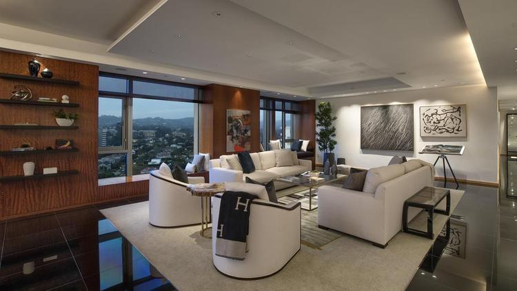 The three-bedroom unit at the Californian sold in July for $7.713 million. (Realtor.com)
