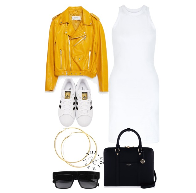 My look for the concert. Not exact items just similar. Yellow for lemonade haha