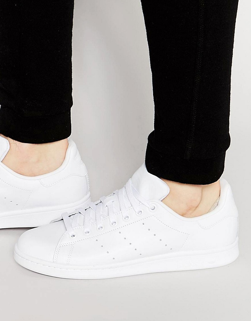 All White Stan Smith Adidas
