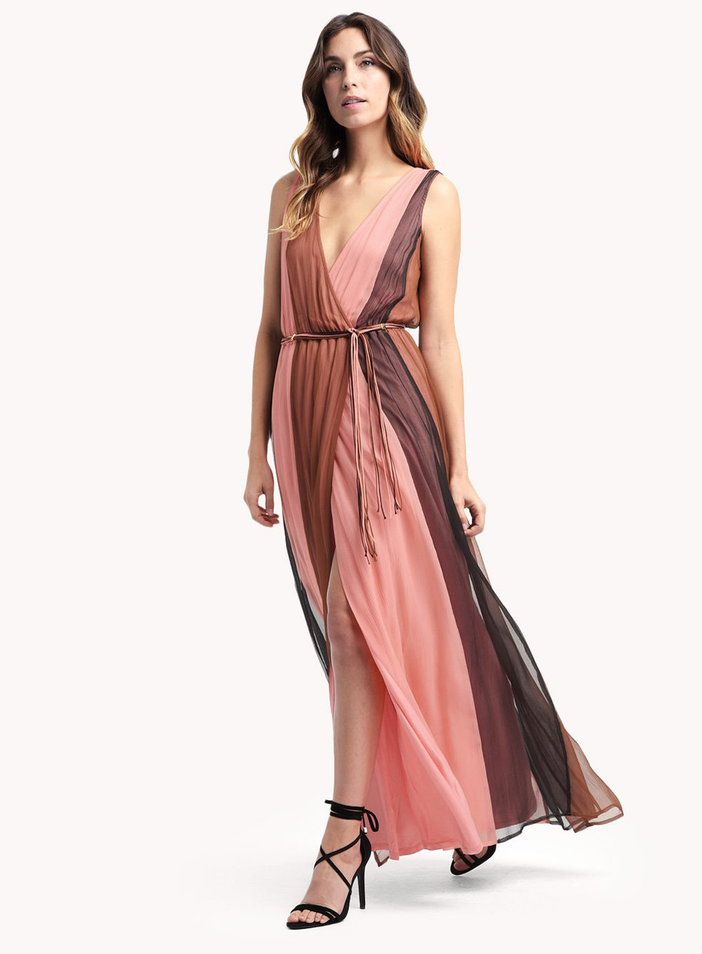 ella moss rose pink color blocking dress .jpeg