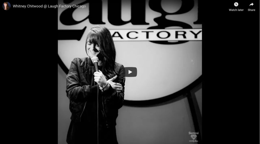 Watch - A new clip recorded at the Chicago Laugh Factory!