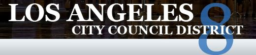 http://council.lacity.org/Directory/CouncilDistrict8/index.htm