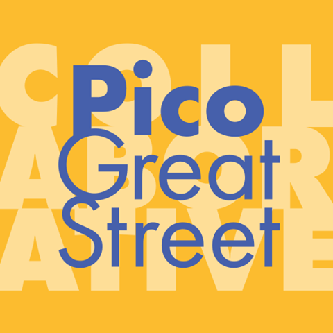 "Pico Great Street Collaborative Pico Blvd between Fairfax Ave. and Cochran Ave. (CD10)  Project goal: To make the Pico Blvd Great Street a walkable and bikeable ""destination"" for the neighborhood and beyond, with vibrant public gathering spaces and thriving local businesses."