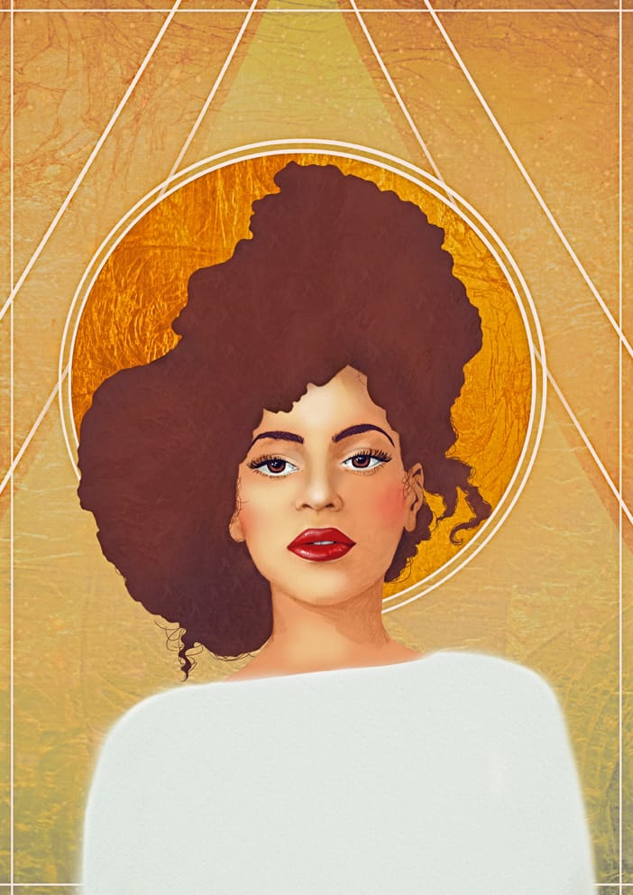 Beyoncé (& pussy riot) illustration by eplet. Click  here  to view and buy eplet's art.