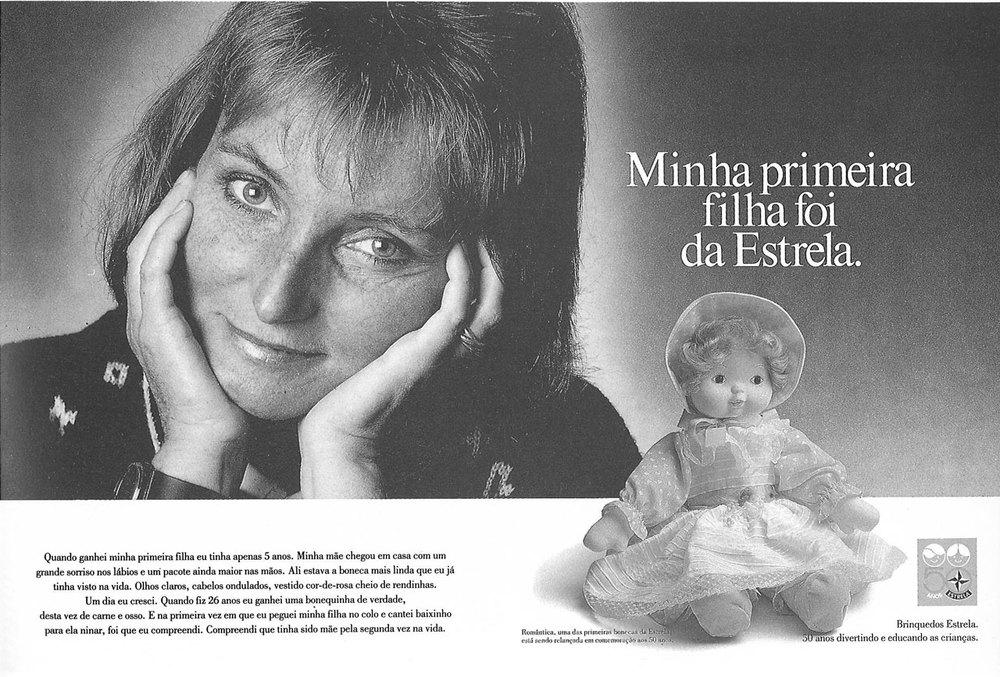Minha primeira boneca foi da Estrela