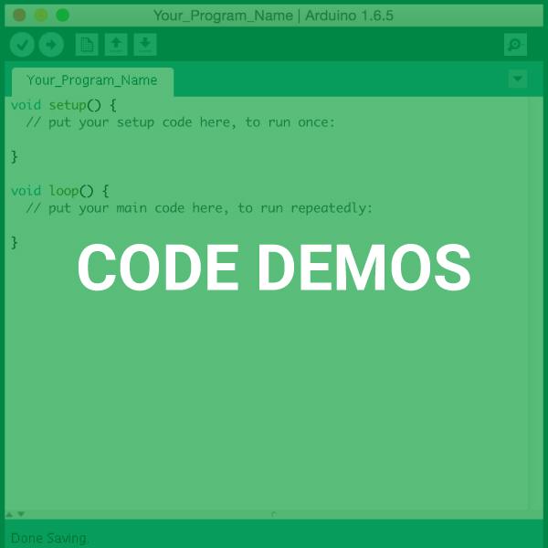 Click for Code Demos + Explanations