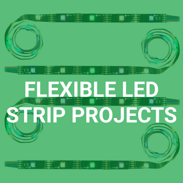 Click to See What You Can Build with a Flexible LED Strip in Your Kit!