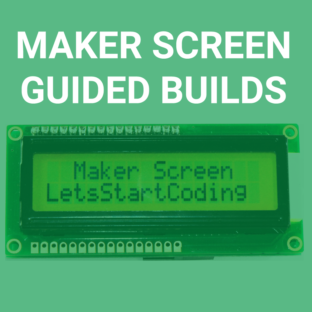 Click to Get Started with Maker Screen!