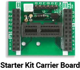 Let's Start Coding Starter Kit Carrier Board (Discountinued)
