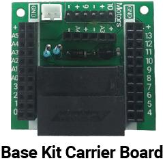 Let's Start Coding Base Kit Carrier Board