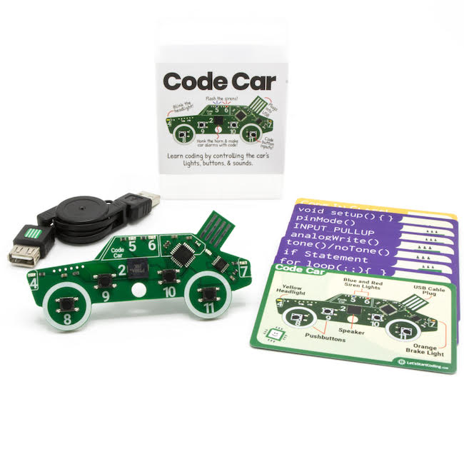 Code Car will get your kid started fast! No wires or extra components needed!
