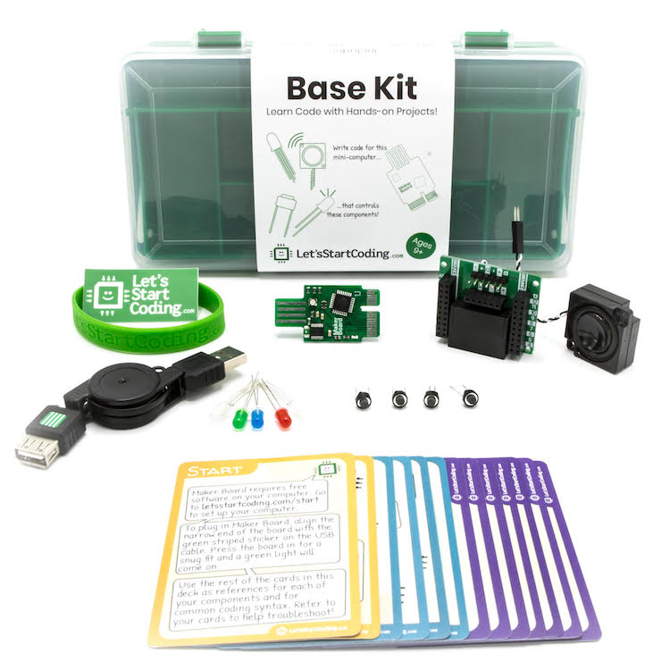 Base Kit is the perfect hybrid of building your own circuits without getting overwhelmed