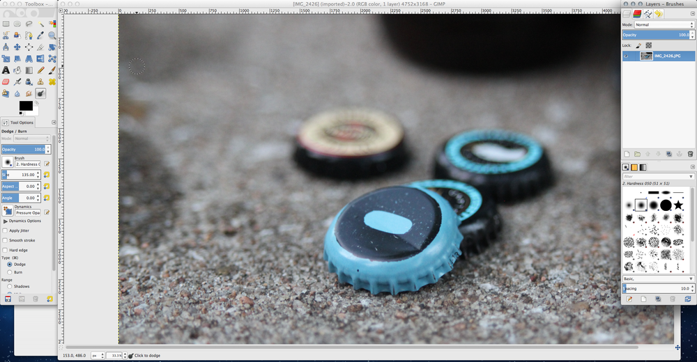 Top free photo editing tools for bloggers and creatives - GIMP