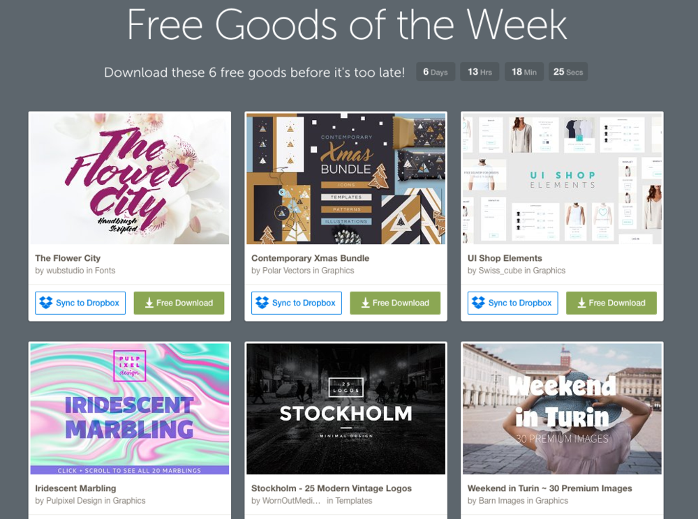 Creative Market: Free Photos and Images for Bloggers and Nonprofits