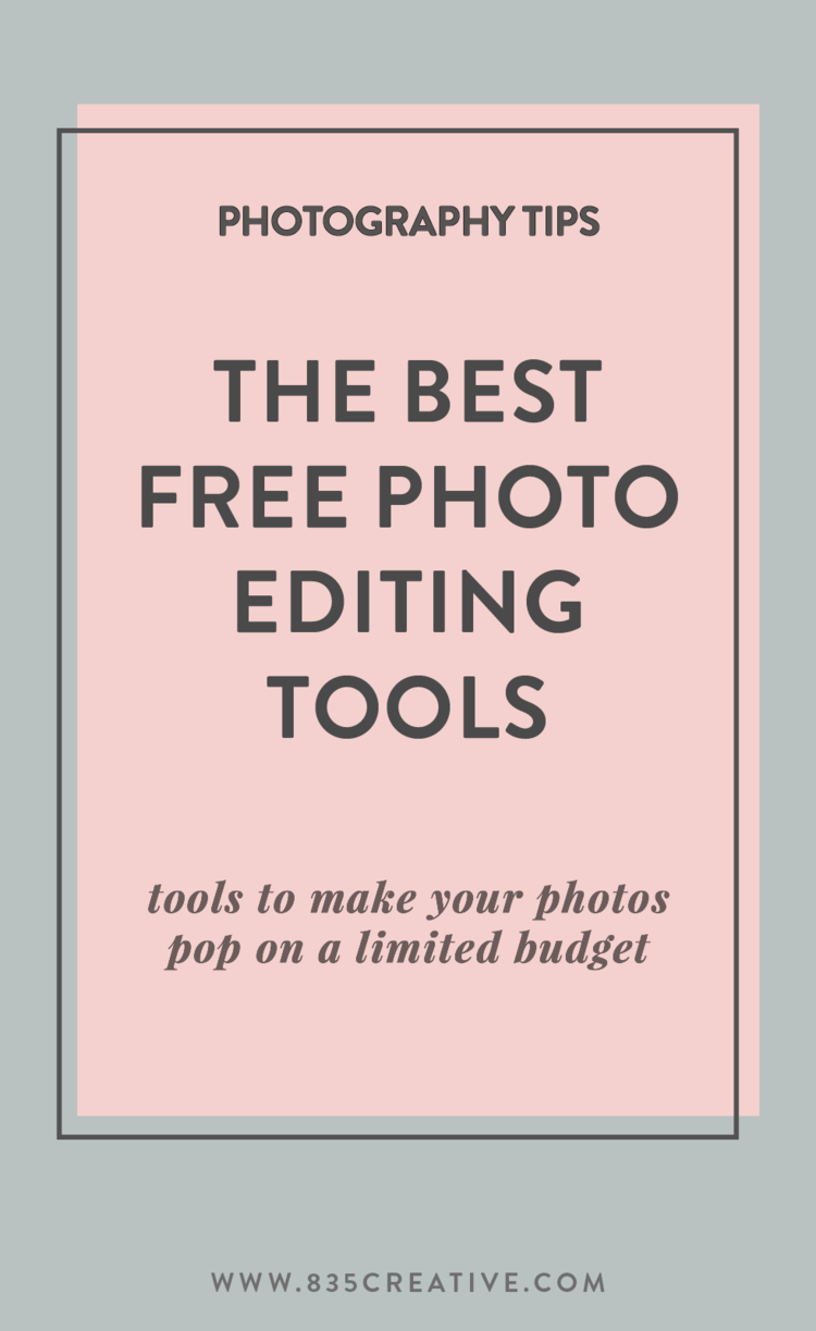 Best free photo editing tools for bloggers and creatives on a budget