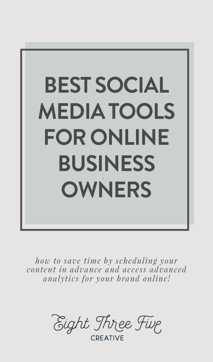 The Best Social Media Tools for Online Business Owners