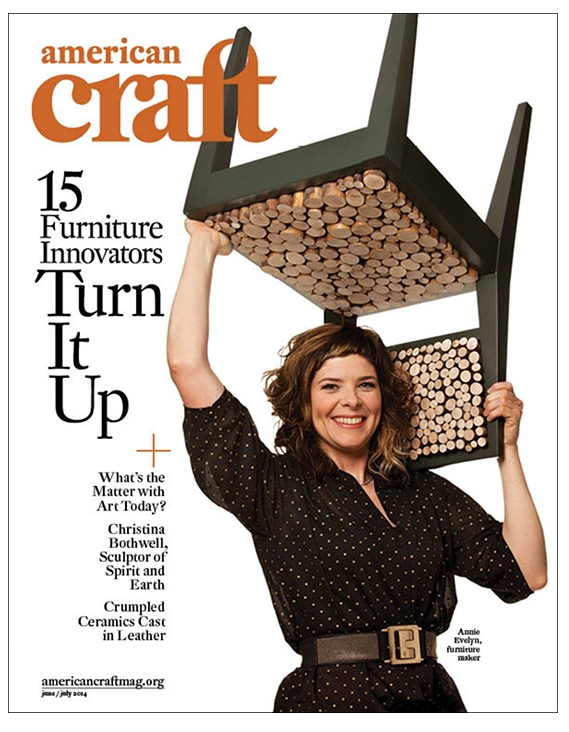 JUNE/ JULY 2014 AMERICAN CRAFT COVER