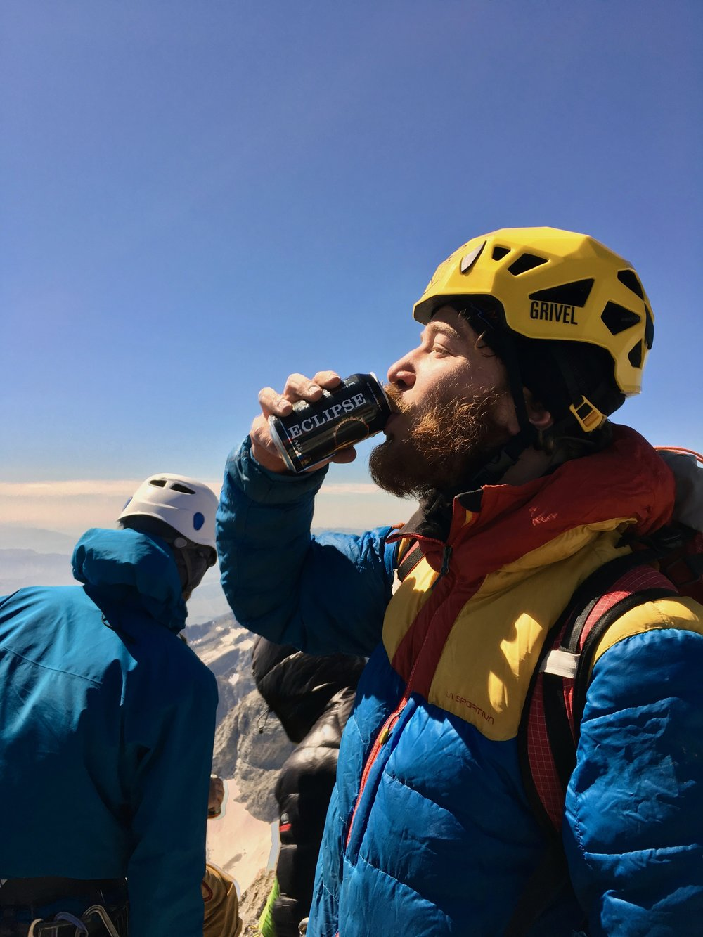 No summit is complete without a summit beer!