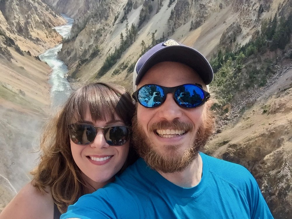 Grand Canyon of Yellowstone with Cassondra