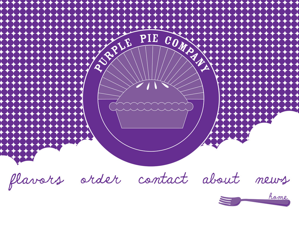 Website, photography, product design for Purple Pie Company; 2011
