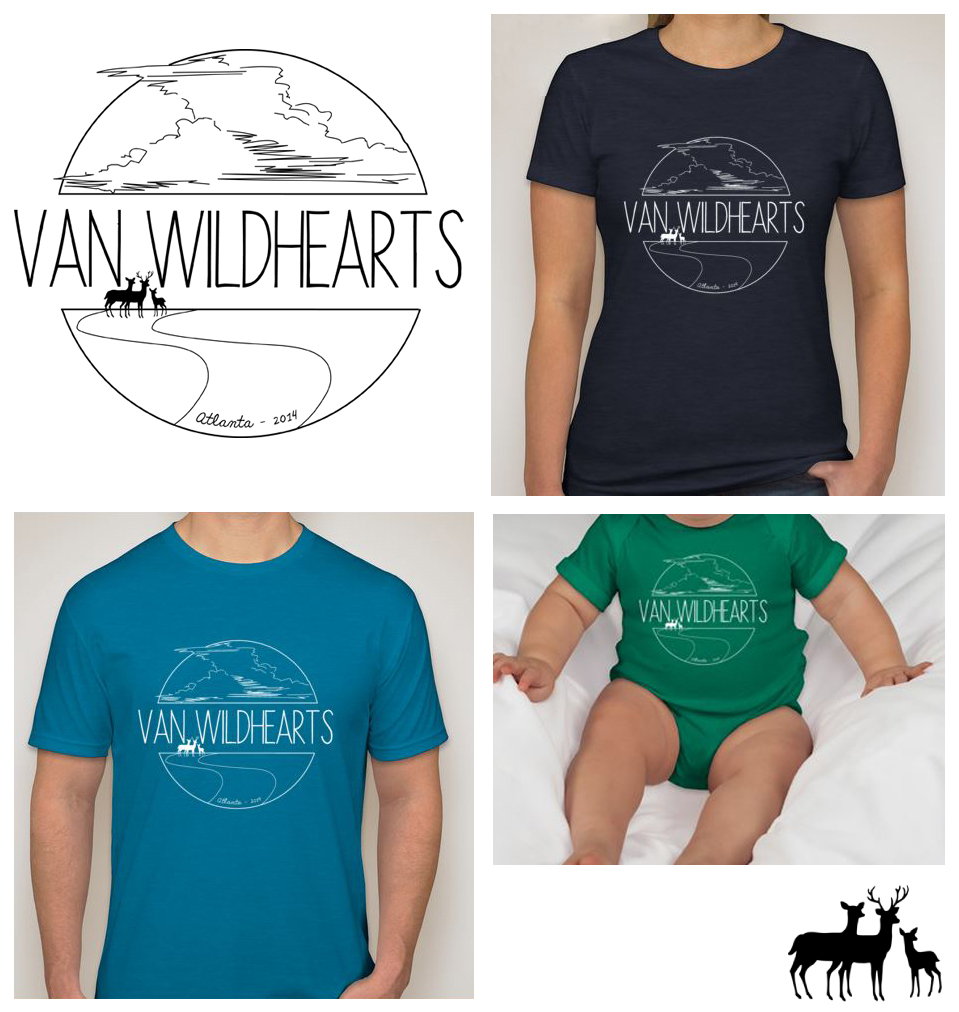 Van WildHeart family reunion shirts; 2014