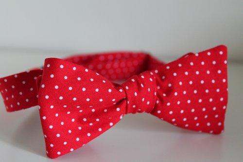 Copy of Red polka dot
