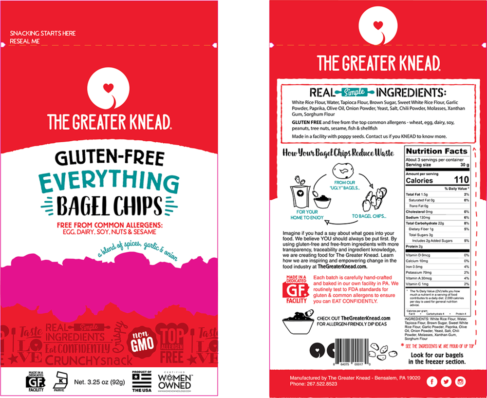 Pouch Style Package Design Front and Back
