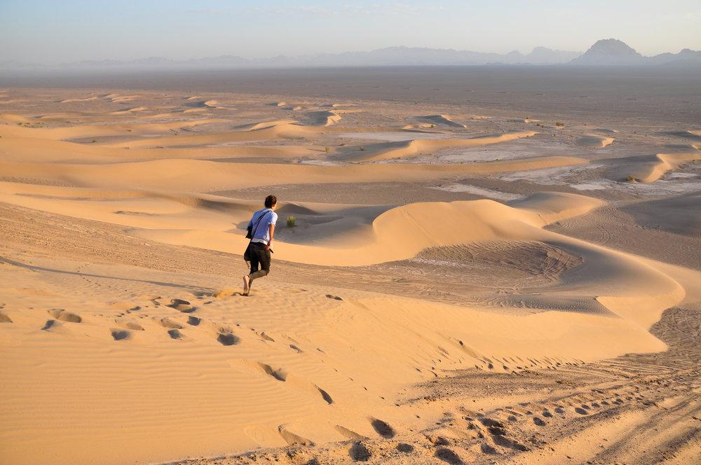 Bafgh Desert, Iran