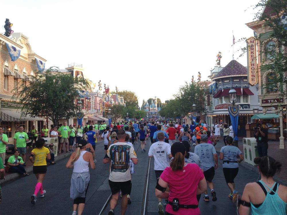 Mainstreet USA, Disneyland Half Marathon