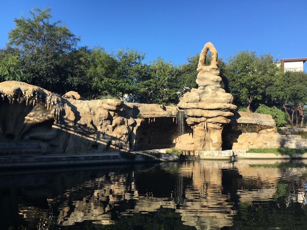Fantasy grotto