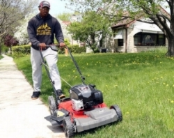Mowing Laws For Those In Need - Even the Queen of England took notice of Rodney Smith's good deeds.