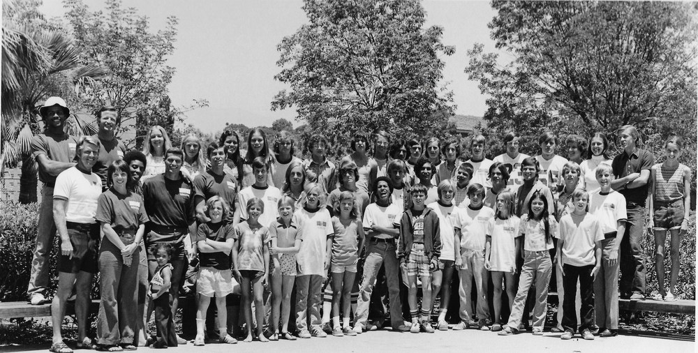 Campers in Santa Barbara, CA, 1975
