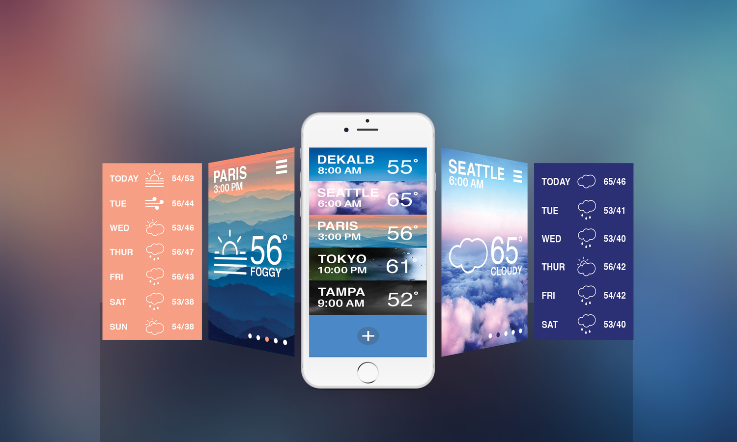 Weather App — Connor Daniels Design