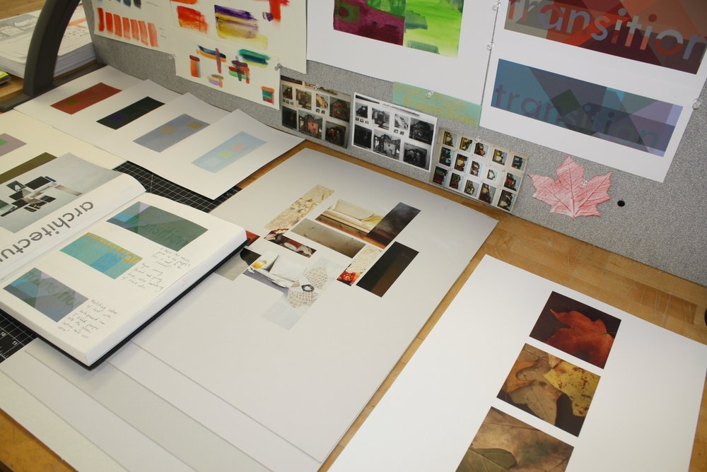 An accumulation of my work throughout the Color + Communication course.