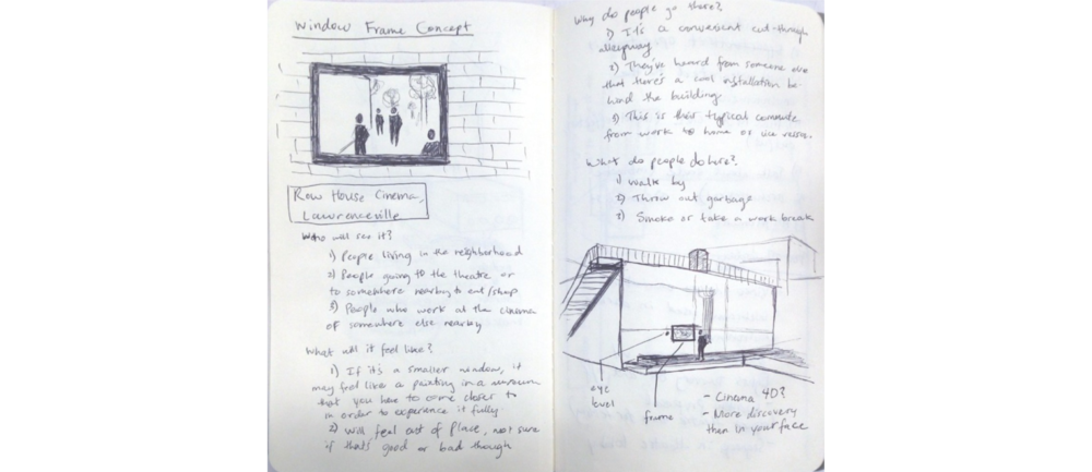 Concept sketching/note-taking