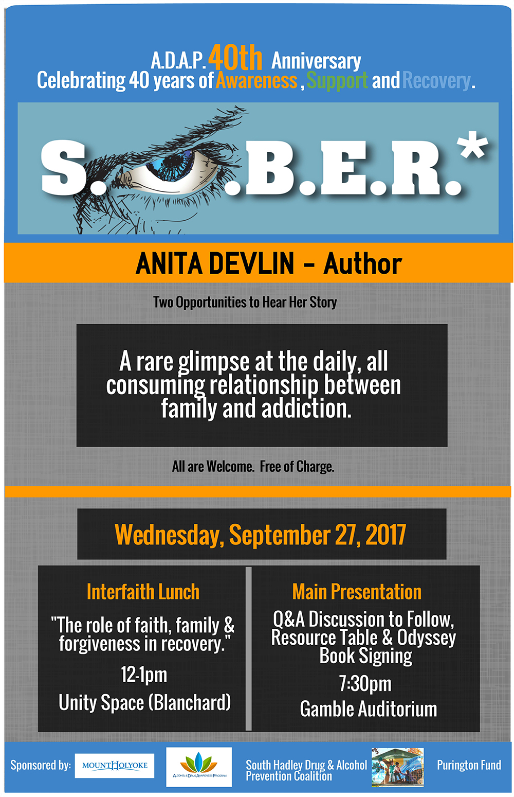 flyer for Anita Devlin Sept 2017 SOBER F2017 MHC Copy.jpg