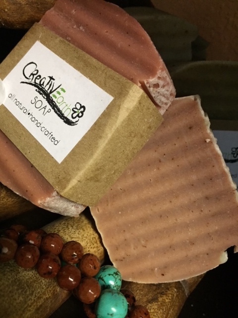 CREATIVE ARTH  SOAPS : NOw WITH ADDED RED ESPRESSO