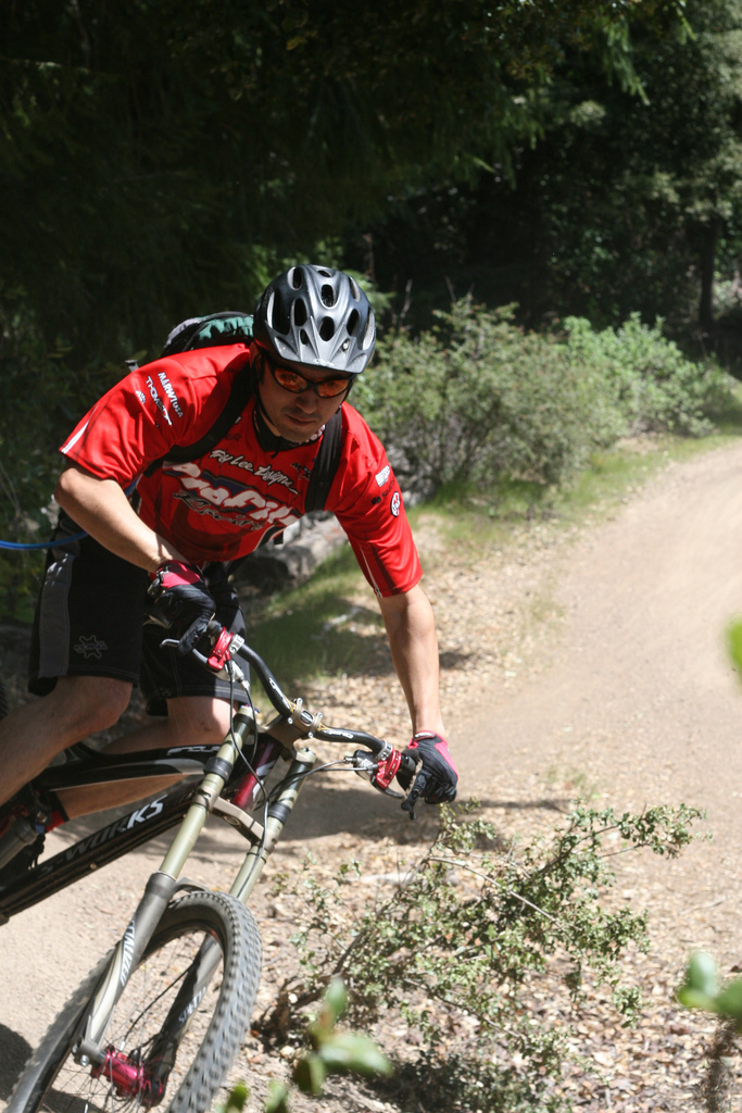 Always testing, Specialized days in Soquel Demo 2007.
